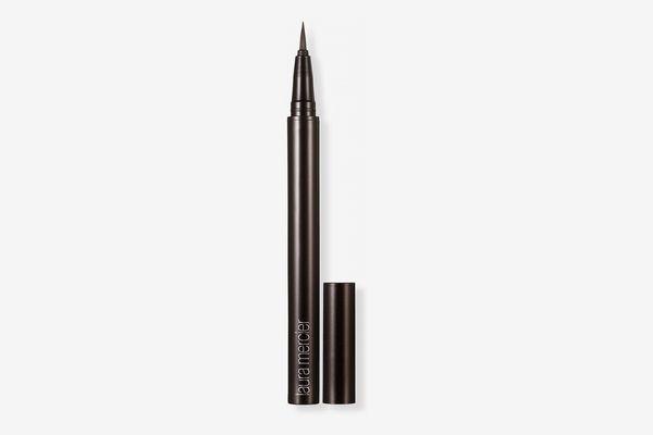 Laura Mercier Instant Ink 24-Hour Brush Eyeliner — Black