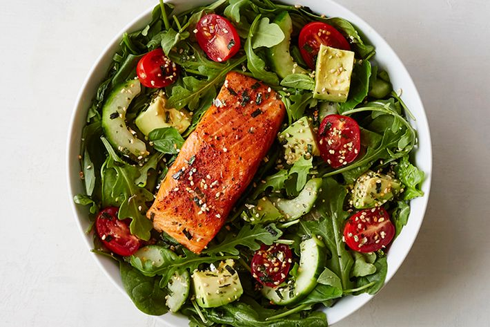 The new OMG Omega bowl has sustainably sourced trout.