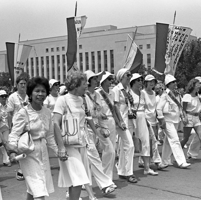 An Equal Rights Amendment march in Washington, D.C., in 1978.