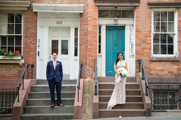 Steven Chaitoff and Brittany Pavon Suriel.