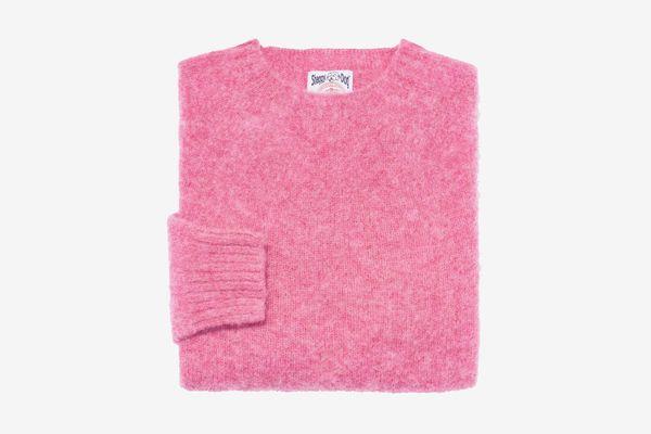 J. Press Shaggy Dog Sweater, Pink