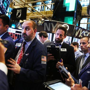 Traders work on the floor of the New York Stock Exchange on June 20, 2013 in New York City. In Wall Street's worst day of the year, the Dow Jones industrial average plunged more than 300 points, or two percent.