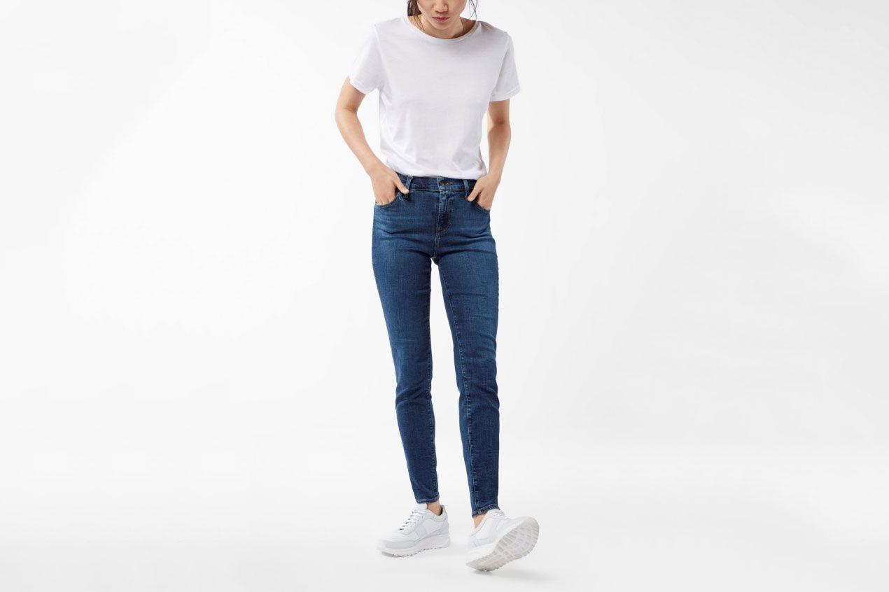 Maria High-Rise Super Skinny in Moral