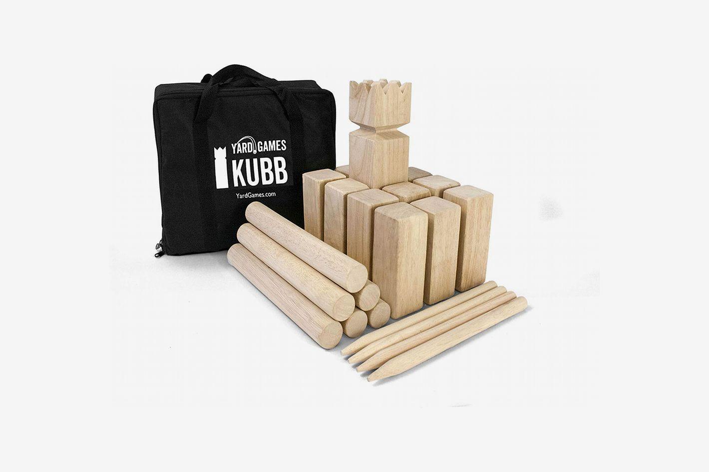 Kubb Game Premium Set
