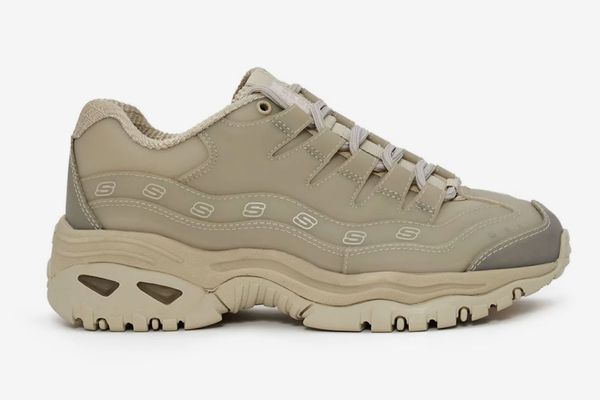 Opening Ceremony x Skechers Energy Sneaker in Taupe
