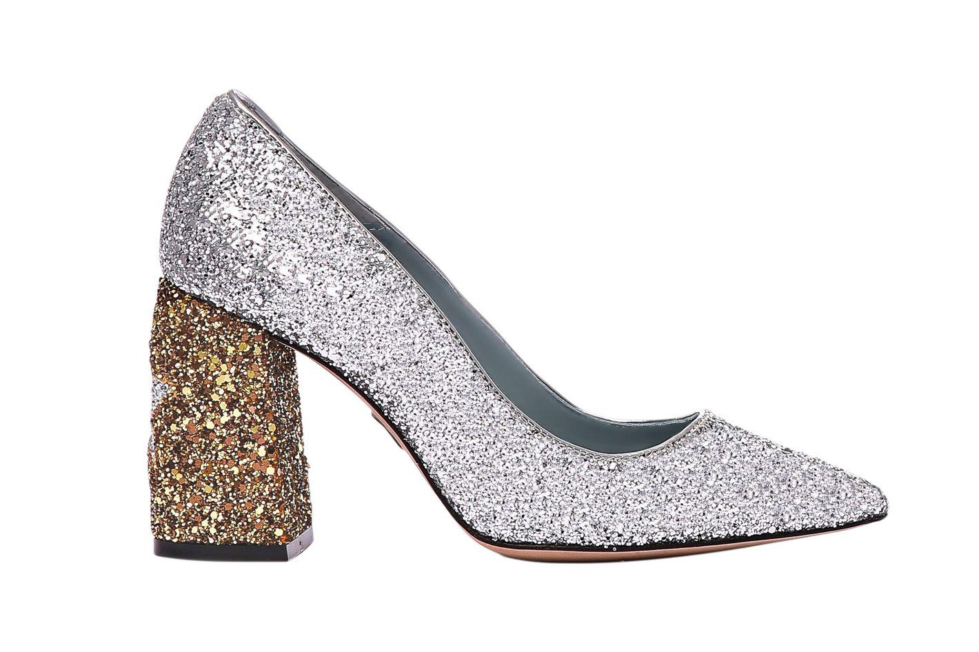 Chiara Ferragni  Stars Glitter Pumps