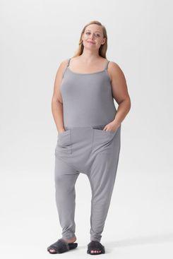 Universal Standard Jackson Sleeveless Jumpsuit in Lavender Grey