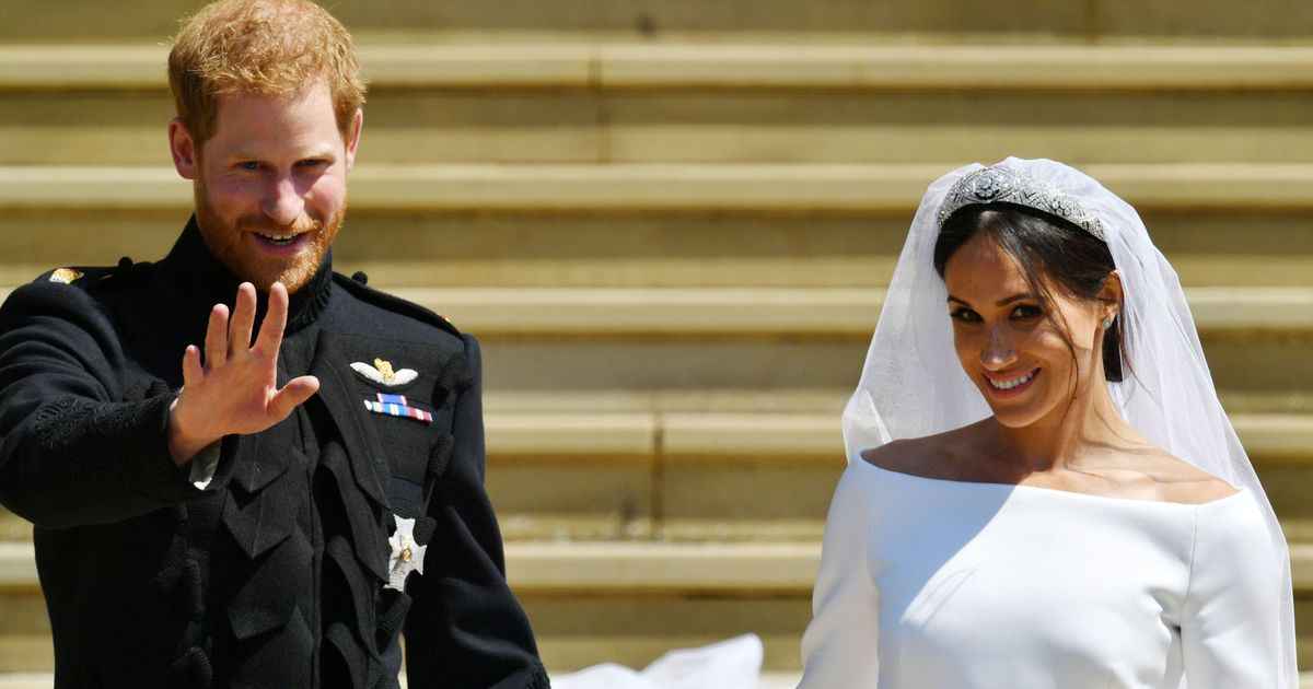 Meghan and Harry Share New Royal Wedding Pictures on Their Anniversary