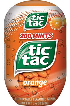 Tic Tac Fresh Breath Mints — Orange — 200 Count