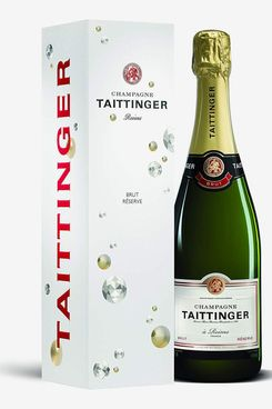 Taittinger Brut Reserve Non-Vintage Champagne With Gift Box, 75cl
