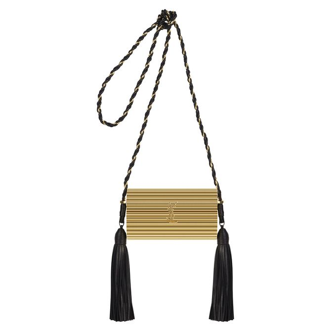 c8fe7d138a01 The bag s named after the brand s iconic perfume and features the same  tassle details found on the bottle. It s glitzy