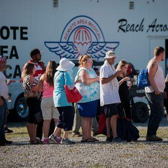 Remote Area Medical Volunteers Treat Patients