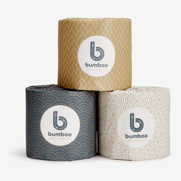 Bumboo | Luxury 3 Ply Bamboo Toilet Paper, Eco-Friendly, Soft & Strong - 48 Extra Long Toilet Rolls