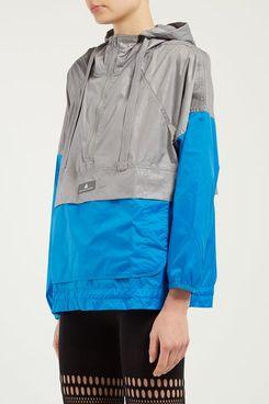 Adidas by Stella McCartney Two-Tone Hooded Windbreaker Jacket