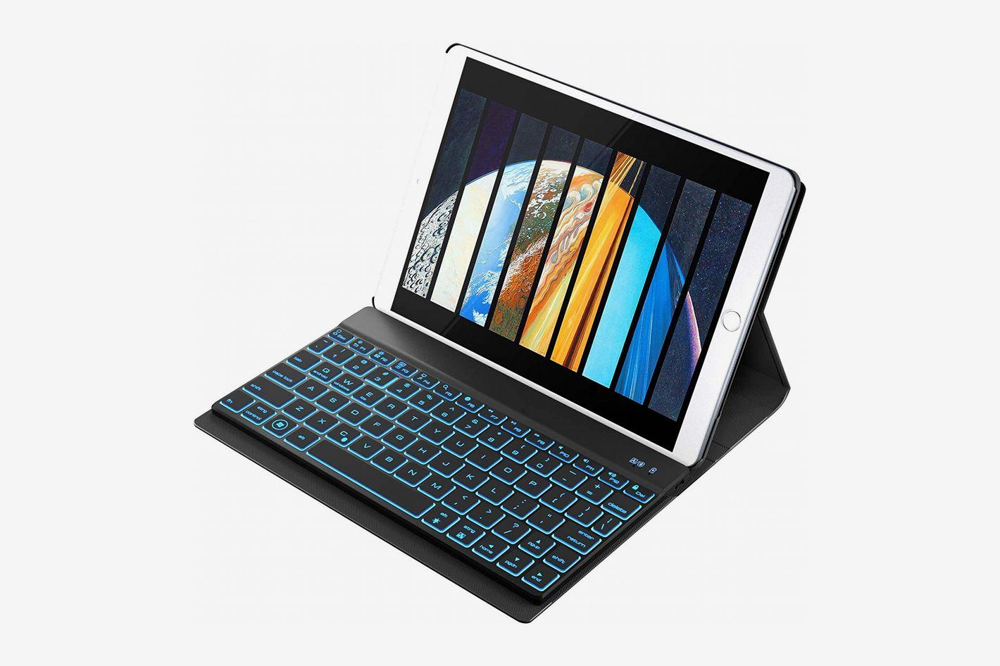 a06bc30550 YEKBEE iPad Keyboard Case for New 2018 iPad, 2017 iPad, iPad Pro 9.7,