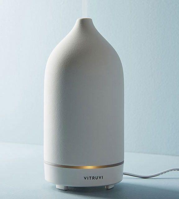 Vitruvi Terracotta Stone Essential-Oil Diffuser
