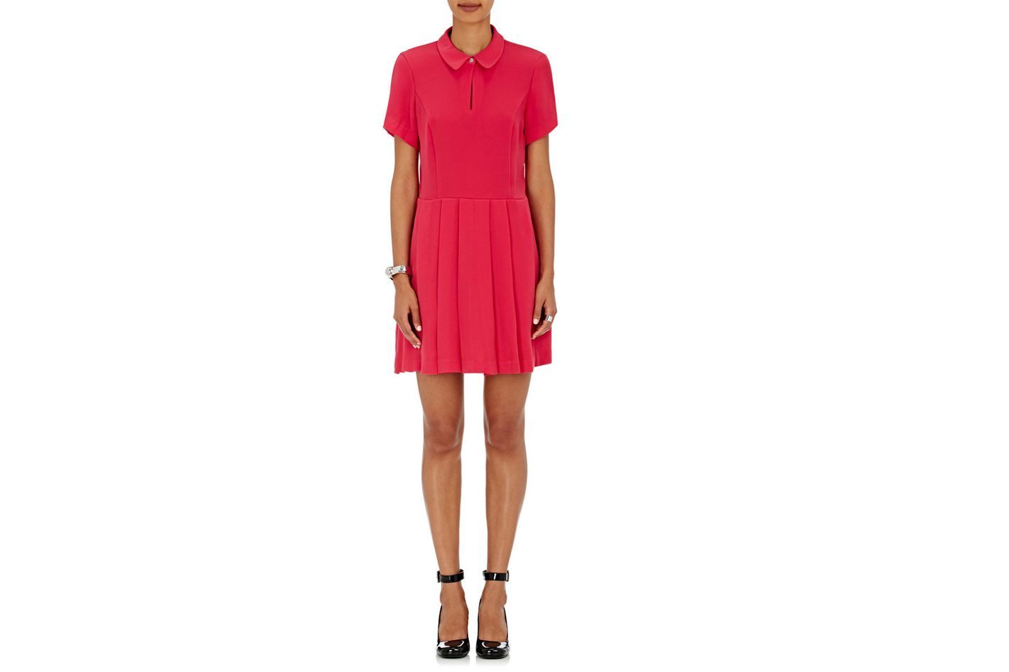 Opening Ceremony Keyhole-Front Crepe Dress
