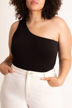 Eloquii One Shoulder Bodysuit