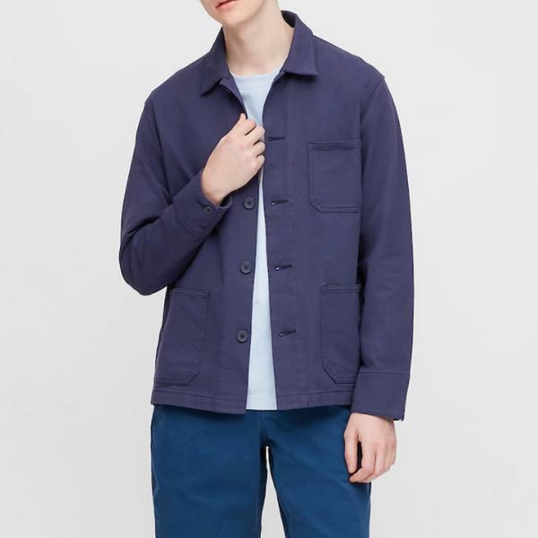 Uniqlo Washed-Jersey Work Jacket