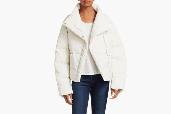 Theory Asymmetric Puffer Jacket