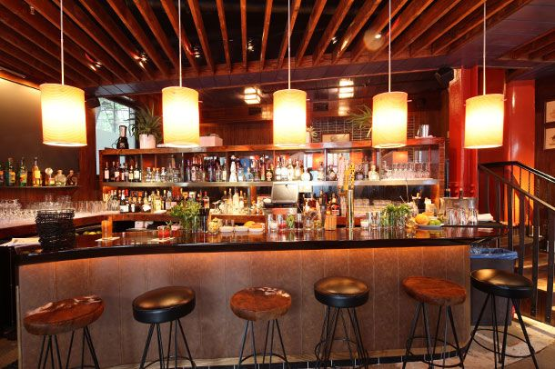 Wells likes El Toro Blanco's interior more than its food.