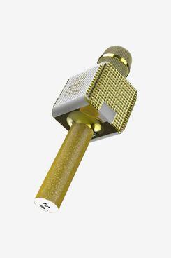 Tzumi Pop Solo Bling Rechargeable Bluetooth Karaoke Microphone