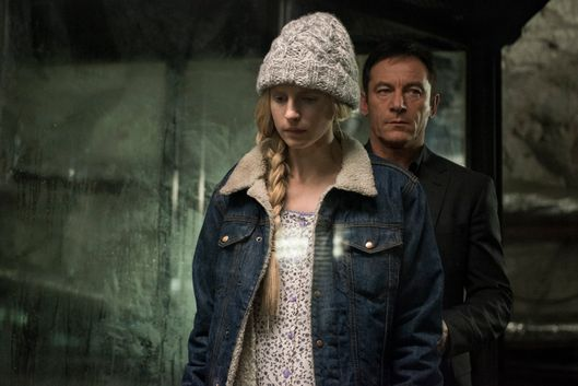 Brit Marling as Prairie, Jason Isaacs as Hap.