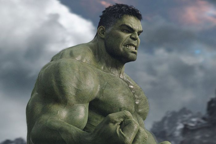 What Professor Hulk looks like, but with better clothes and less teeth-clenching.