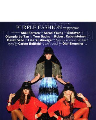 Carine's new Purple cover.