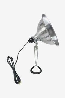 HDX 150-Watt Aluminum Incandescent Light Fixture with Clamp