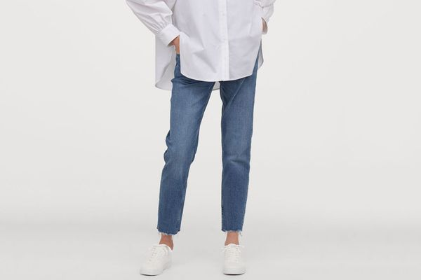 H&M MAMA Girlfriend Ankle Jeans