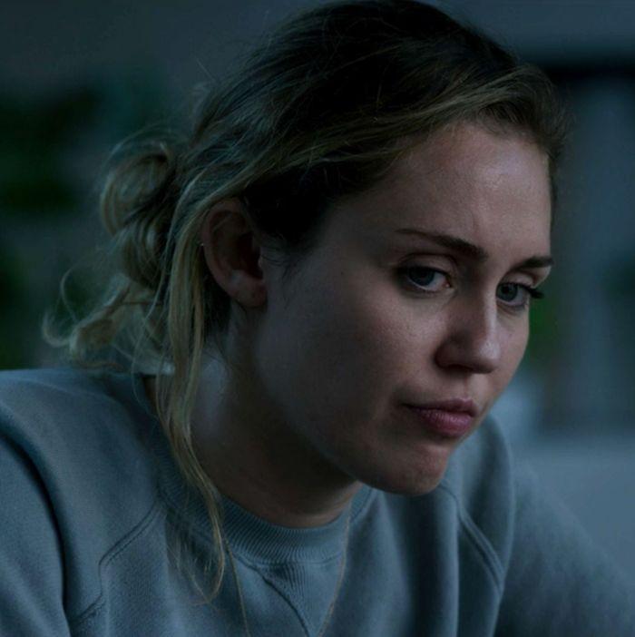 Miley Cyrus in the Black Mirror episode