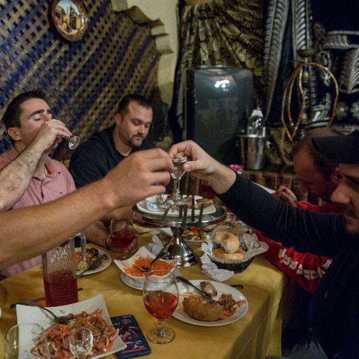 Cafe Dushanbe.