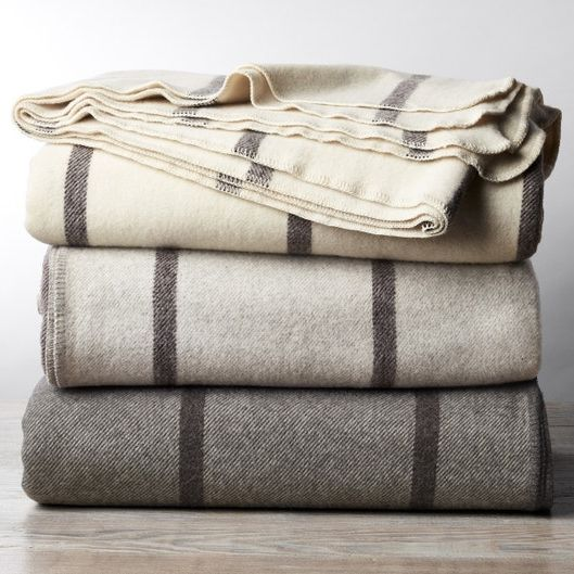 Coyuchi Tahoe Climate Beneficial Wool Blanket