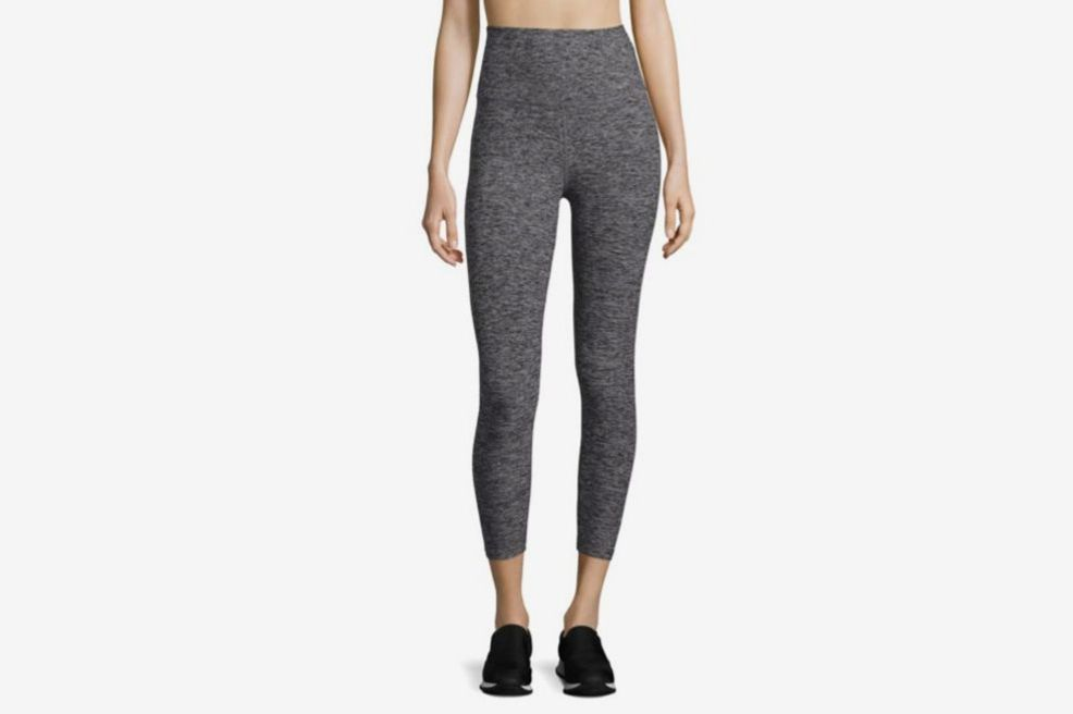 Beyond Yoga Space-Dye High-Waist Capri Leggings