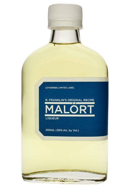 "Speaking of challenging hooch, have you heard of malört? The extremely bitter wormwood liqueur is all the rage among macho Chicago bartenders, who exalt the stuff the way bartenders in New York and San Francisco aggrandize Fernet Branca. Which is to say, if you have a seen-it-all cocktail cynic on your gift list, a flask of R. Franklin's Original Recipe Malört from Chicago distiller Letherbee ought to bring them to their knees. More astringent than a chemical peel and requiring nearly as much recuperation time, the stuff makes your lips curl, eyes squint, and cheeks seize for a few glorious seconds — they call that ""malört face."" Happy holidays, guys. <a href=""http://www.astorwines.com/SearchResultsSingle.aspx?p=2&search=29554&searchtype=Contains"">Letherbee Malört</a>, $37"