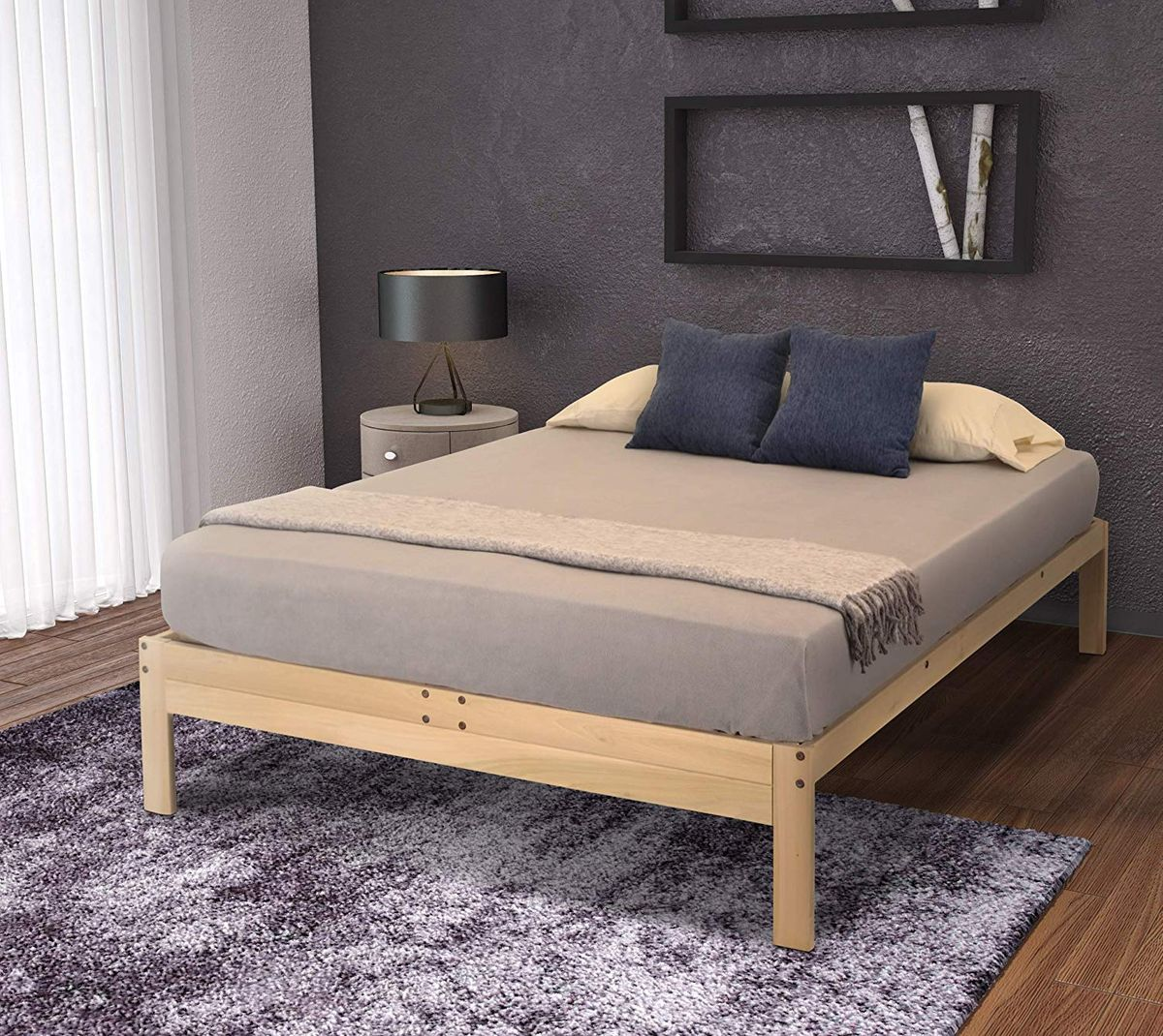 cb2 bed frame