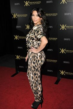 HOLLYWOOD, CA - AUGUST 17:  Kim Kardashian arrives at the red carpet of the Kardashian Kollection Launch Party on August 17, 2011 in Hollywood, California.  (Photo by Jason Merritt/Getty Images)