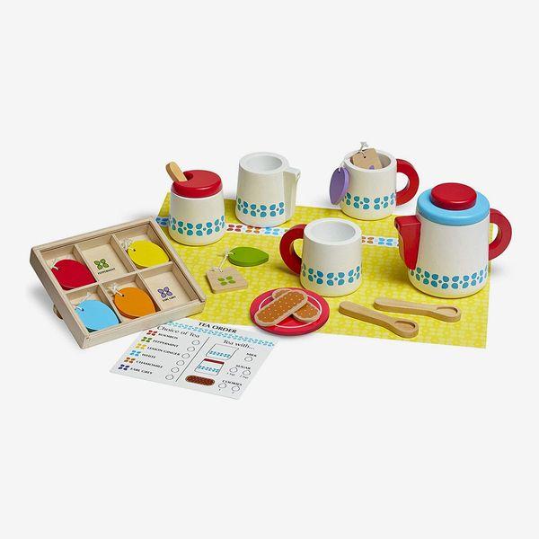 Wooden Tea Party Set