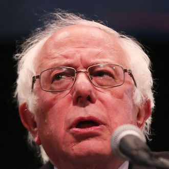 Bernie Sanders Delivers Speech In New York City