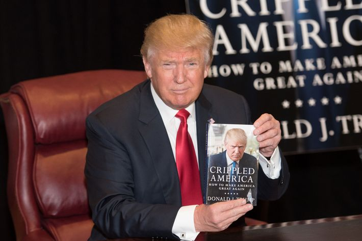 donald trump 39 s favorite author appears to be himself