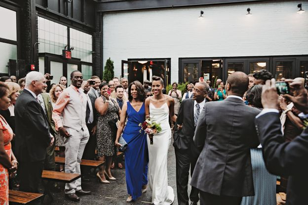 Nymag Real Weddings: - Real Wedding Album: A Gowanus BBQ