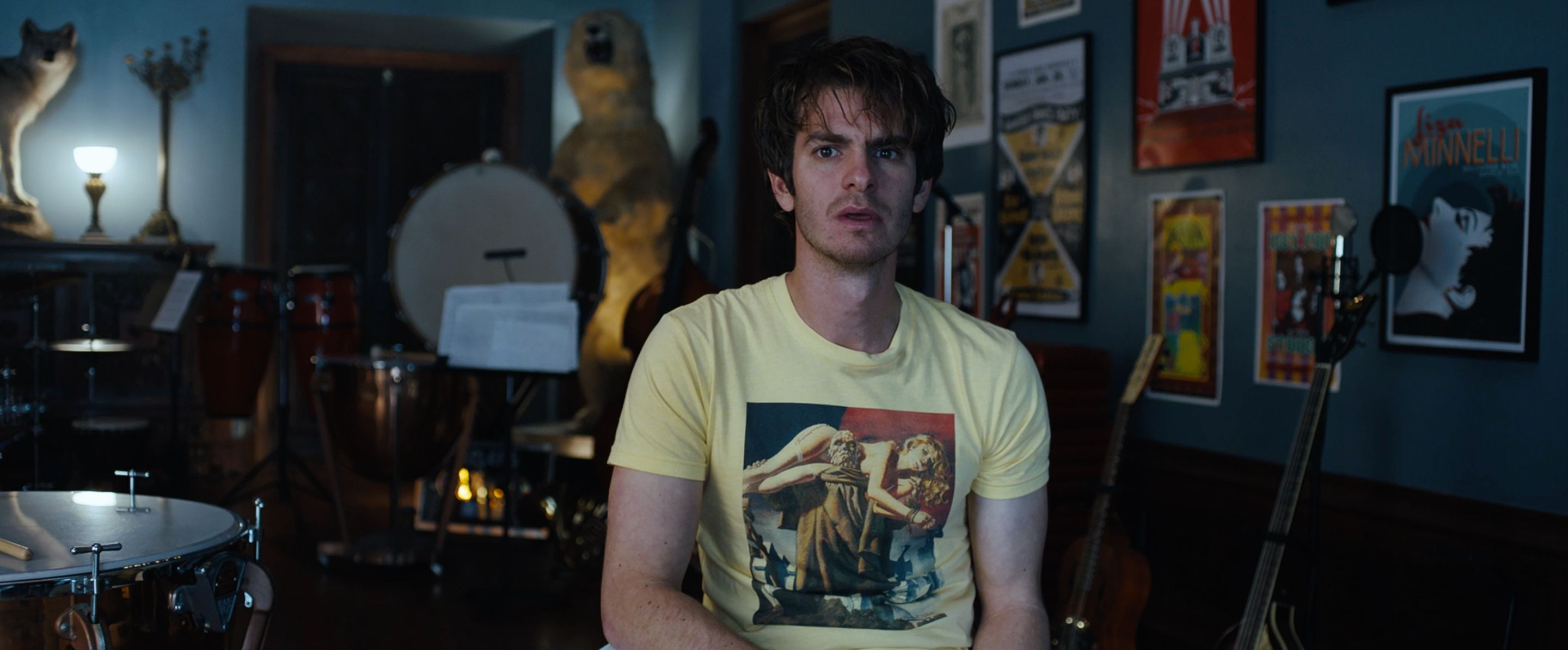 Andrew Garfield Learns About A Giant Pop Culture Conspiracy In This Under The Silver Lake Clip