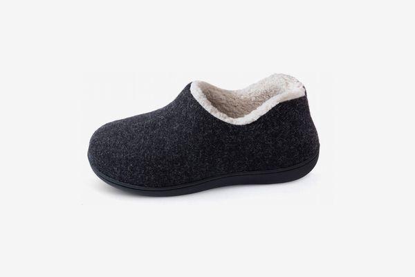 ULTRAIDEAS Women's Cozy Memory-Foam Slippers With Warm Fleece Lining