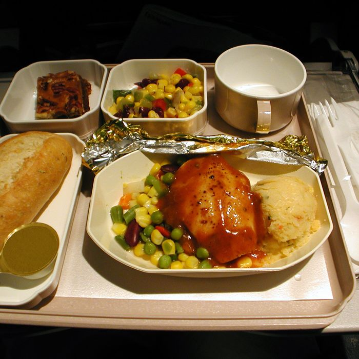 What's the deal with airline food, anyway?