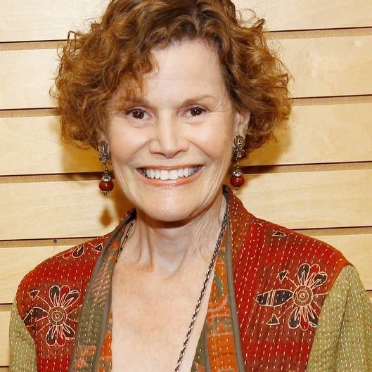 "SANTA MONICA, CA - MAY 30:  Judy Blume signs copies of her new book""Tiger Eyes"" at Barnes & Noble 3rd Street Promenade on May 30, 2013 in Santa Monica, California.  (Photo by Joe Kohen/FilmMagic)"