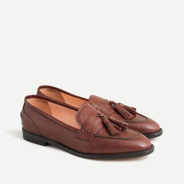 J.Crew Academy loafers with tassels