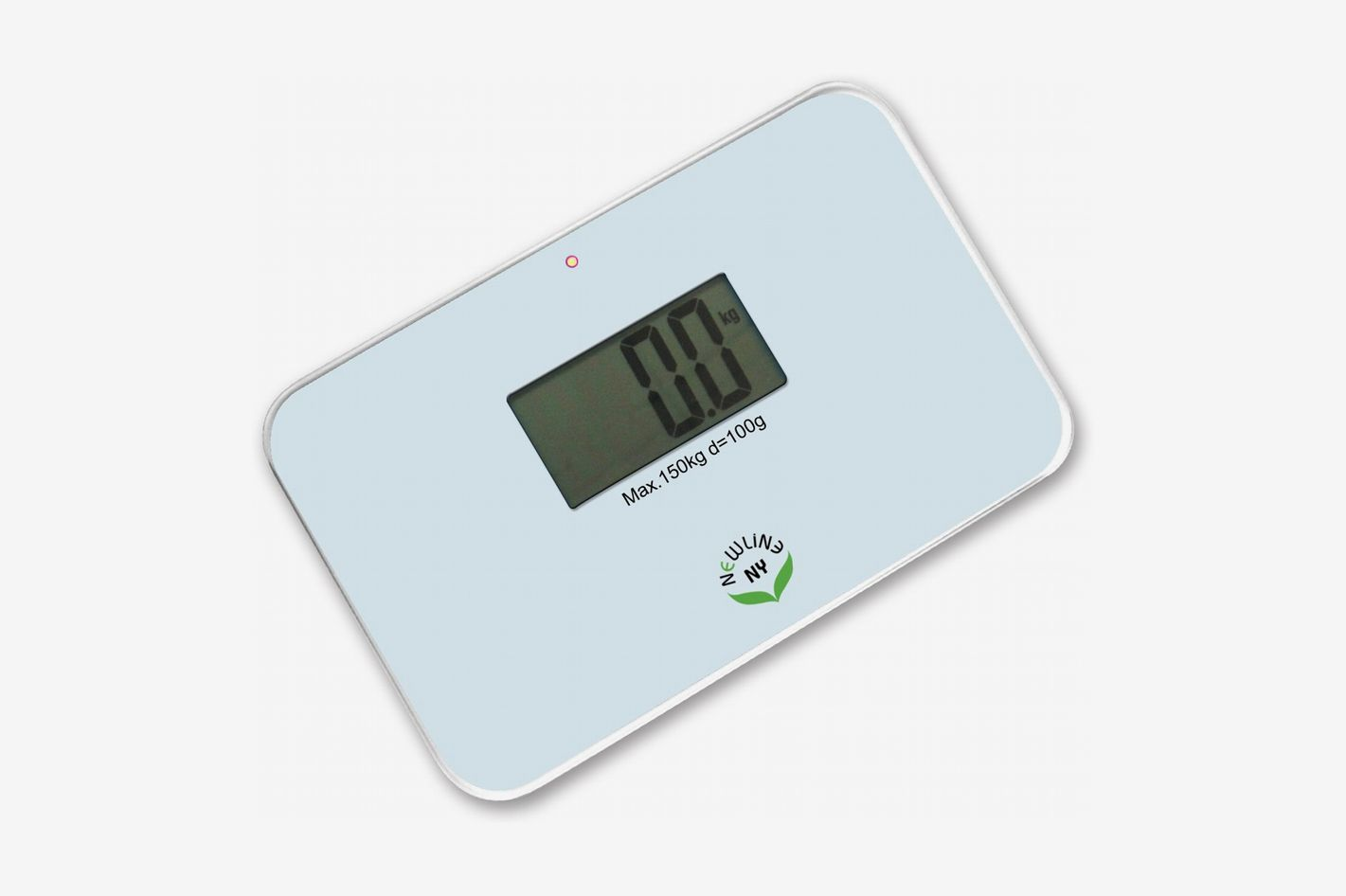 NewlineNY Auto Step-on Super-Mini Travel Bathroom Scale
