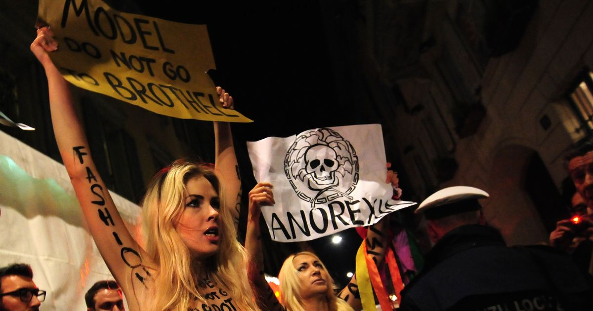 Feminist Group Protested Outside Versace [NSFW] -- The Cut