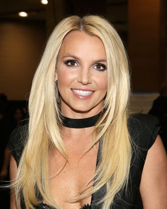 LAS VEGAS, NV - SEPTEMBER 21: Entertainer Britney Spears attends the iHeartRadio Music Festival at the MGM Grand Garden Arena on September 21, 2013 in Las Vegas, Nevada. (Photo by Isaac Brekken/Getty Images for Clear Channel)